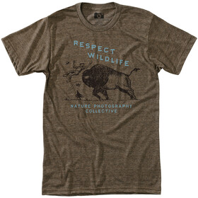 Hippy Tree Respect T-shirt manches courtes Homme, heather brown